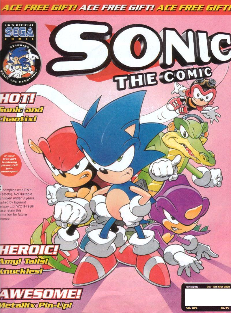 sonic the comic issue 189 sonic news network fandom powered by wikia