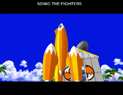 Sonic the Fighters gameplay 13