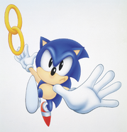 Chaotix Sonic promotional