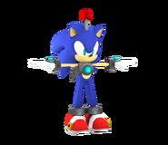 Colors Wii Model Sim Hedgehog