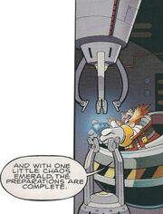 Eggman Uses Emerald