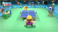 Mario & Sonic at the Rio 2016 Olympic Games - Wario VS Knuckles Table Tennis