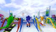 Mario Sonic Olympic Winter Games Gameplay 041