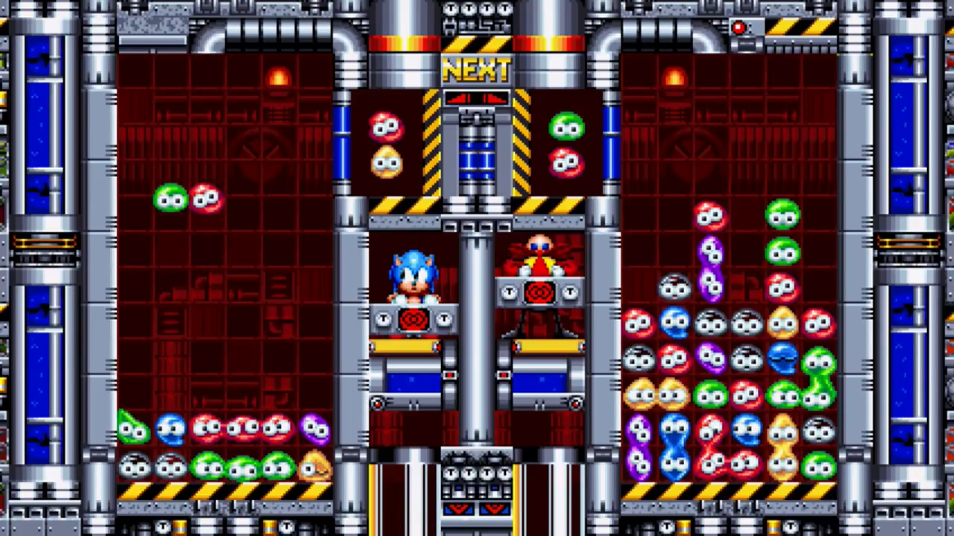 Image result for sonic mania mean bean machine""