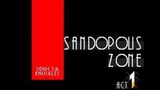 S&K StH3&K Music Sandopolis Zone Act 1