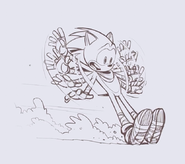 Sonic Boom Art BtS 1