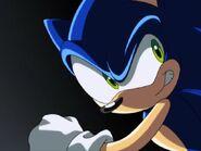Sonic startled