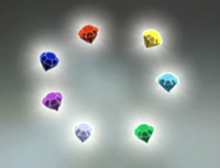 Chaos Emeralds Sonic X