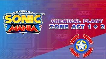 Chemical Plant Zone Act 1 and 2 - Sonic Mania