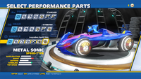 Metal Sonic Legendary Spark Rims Wheels
