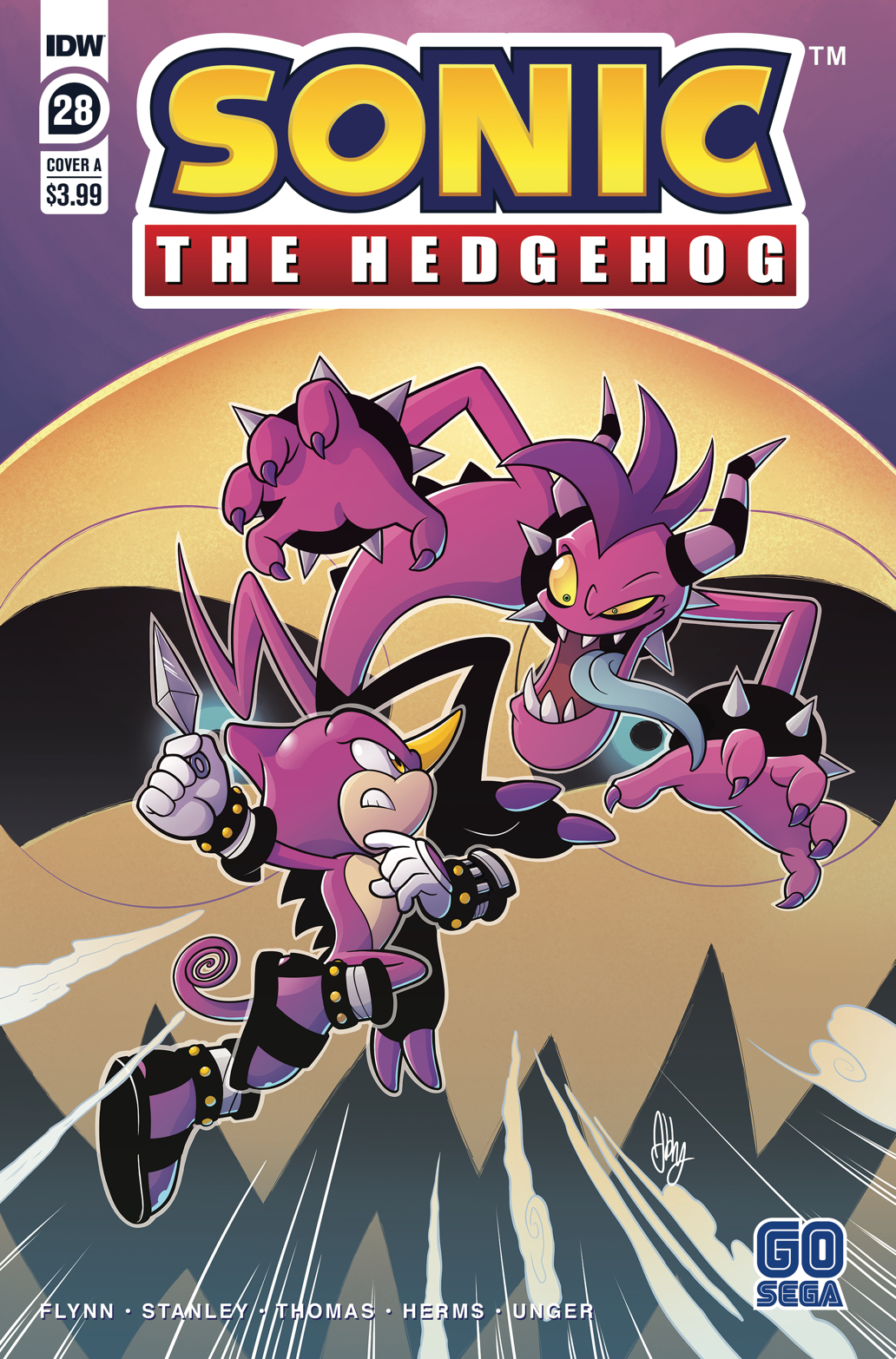 Idw Sonic The Hedgehog Issue 28 Sonic News Network Fandom