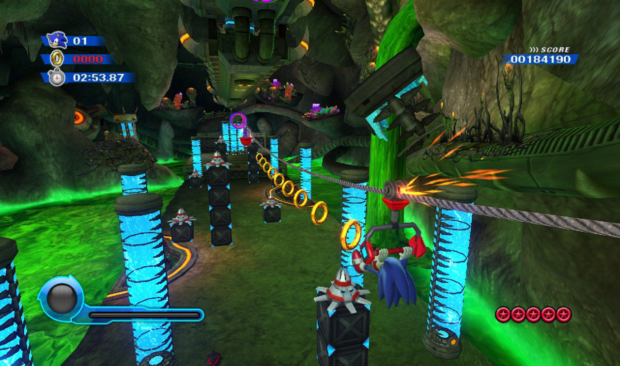 Sonic-Colours-Wii-Asteroid-Coaster-Screenshot-5