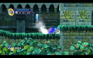 Sonic 4 Episode 2 Spinning Wheel from Sonic 3