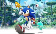 Sonic Generations 3DS artwork 28