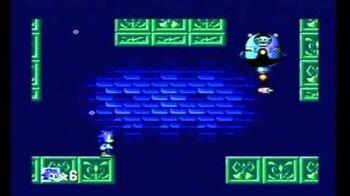 Sonic the Hedgehog (8 bit) Sega Mastersystem Labyrinth Zone Act 3