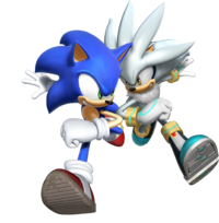 Sonic y Silver - Sonic Rivals