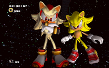 Super Shadow i Super Sonic SA2