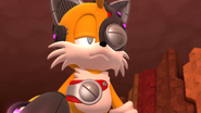 Tails robot costume Sonic Lost World