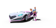 Team Sonic Racing Rouge