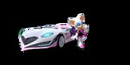 Team Sonic Racing Rouge