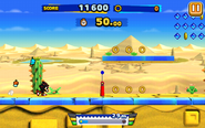 Desert Ruins (Sonic Runners) - Screenshot 1