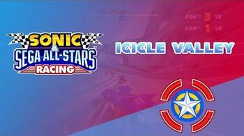 Icicle Valley - Sonic & Sega All-Stars Racing