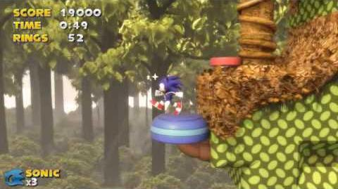 Sonic & Knuckles 3D - Mushroom Hill Zone