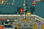 Sonic Advance Zone Egg Rocket