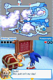 Mario Sonic Olympic Winter Games Adventure Mode 120