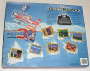 Sonic 3 Mega Drive bundle 1994 back