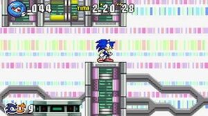 Sonic Advance 3 - Zone 6 Cyber Track - Act 1 2 3 & VS Boss