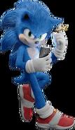 Sonic Film Sonic Artwork 13