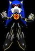 Sonic Rivals 2 - Metal Sonic costume 4