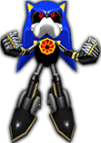 Sonic Rivals 2 - Metal Sonic costume 4