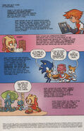 Sonic X issue 6 page 1
