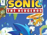 IDW Sonic the Hedgehog N° 001