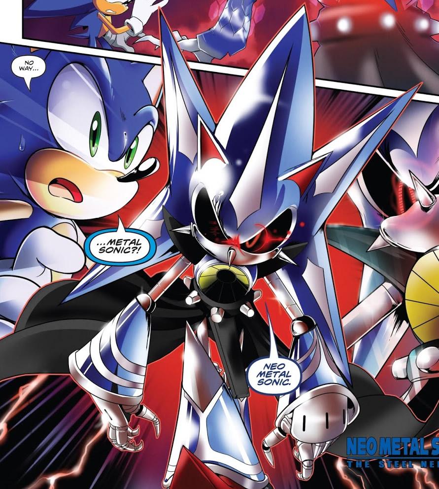 Neo Metal Sonic (IDW) | Sonic News Network | FANDOM ...
