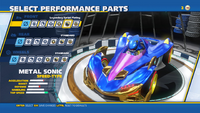 Metal Sonic Legendary Sprint Plating Front