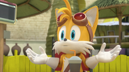SB Tails is very thought to himself