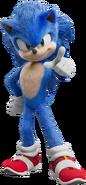 Sonic Film Sonic Artwork 2