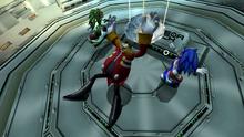 Eggman upuszcza Arki kosmosu