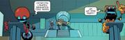 IDW 16 Eggman Throne