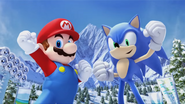 Mario & Sonic at the Olympic Winter Games - Opening - Screenshot 47