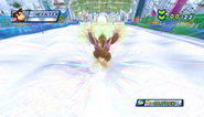 Mario Sonic Olympic Winter Games Gameplay 153