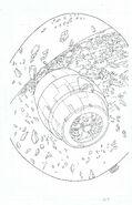 SONIC THE HEDGEHOG -127 ORIGINAL COVER ART