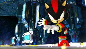 Sonic Generations Silver Vs Shadow