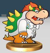 Wedding Bowser Trophy