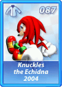 Card 087 (Sonic Rivals)