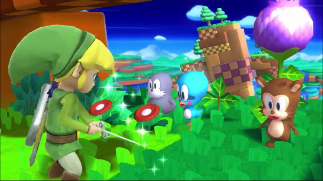 File:SSB4 Toon Link on Windy Hill.png