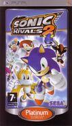 SonicRivals2 PSP FR Box Platinum